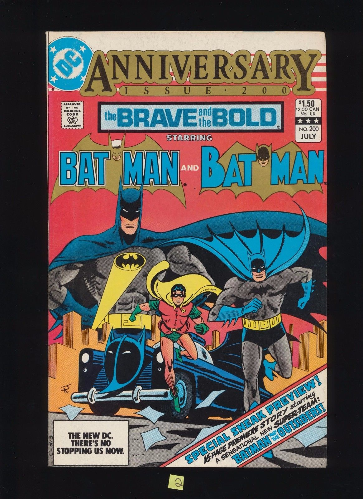 Brave & the Bold 200 Batman & 1st Katana and Outsiders 1983 DC Comic SEE SCANS