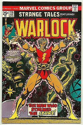 Strange Tales #178 1st Magus 1st Warlock title Marvel Comics 1975 F/VF Starlin
