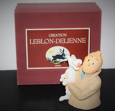 TINTIN BUSTE TINTIN LECHE PAR MILOU ANNEE 1994 LEBLON DELIENNE /FARIBOLES / PIXI