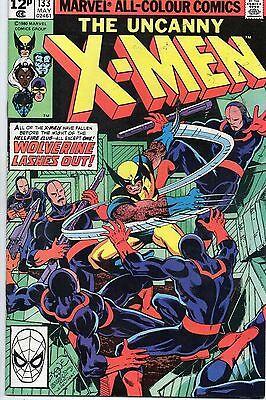 Marvel Comics Uncanny X-Men #133 May 1980 Solo Wolverine John Byrne VF