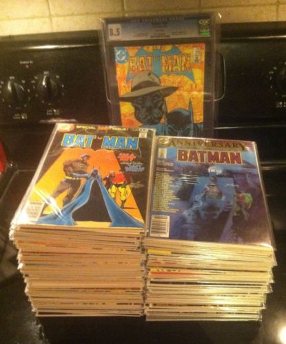 BATMAN #300-454 Huge Lot Run Bronze Age DC 1978-1990 120 Issues