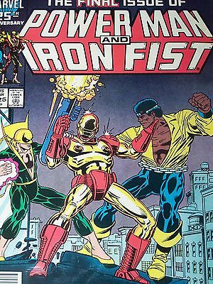 Power Man and Iron First (1978) Issues 116 117 118 119 120 121 122 123 124 125