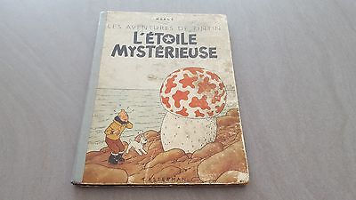 Tintin - L'étoile Mystérieuse B1 - 1946
