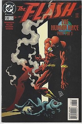 The Flash #138 VF/NM DC 1st Black Flash Grant Morrison Wally West Vol 2
