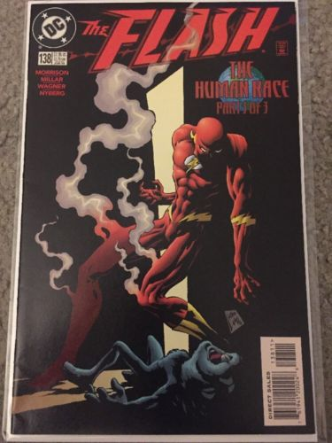 The FLASH #138 Vol 2 First Black Flash appearance DC 1998 CW Tv Show