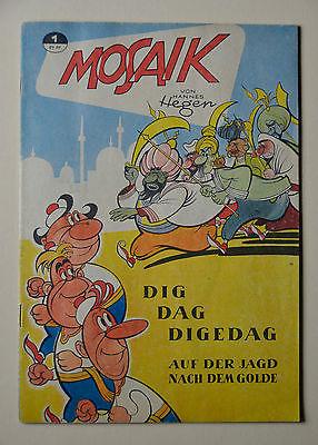 Mosaik Digedags Hannes Hegen Heft Nr. 1 Original von 1955