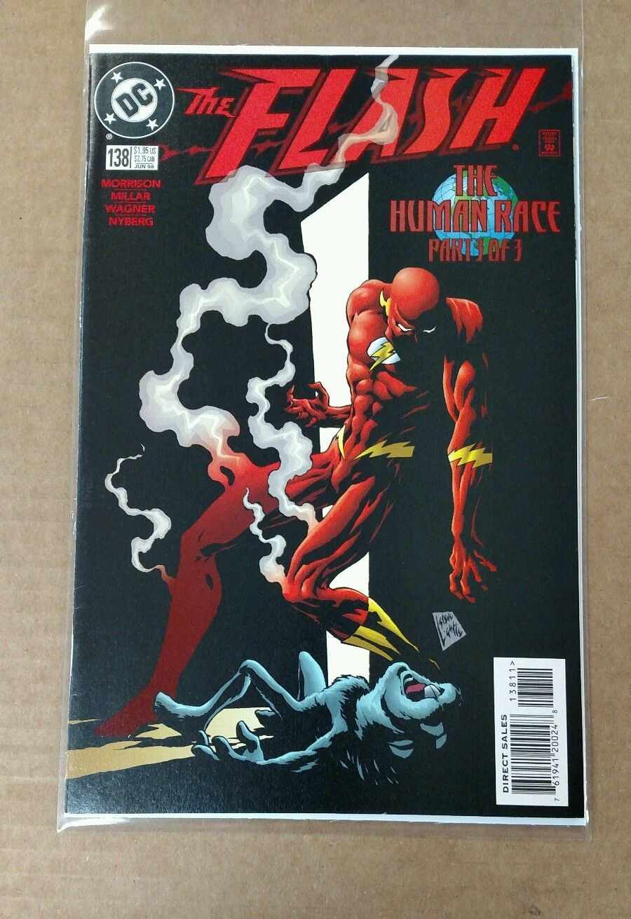 Comicsvalue Com The Flash 138 1998 1st Appearance Black Flash Dc Tv Show Hot Auction Details