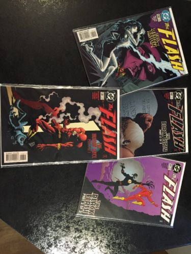 The Flash 138 139 140 141 (1st Appearance Of The Black Flash)