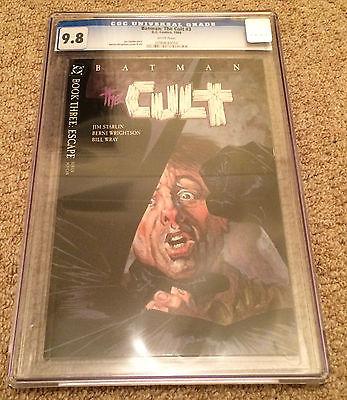 DC - Batman The Cult #3 CGC 9.8