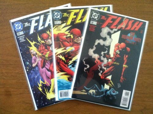 The Flash Vol. 2 #136 137 138   1st Appearance Black Flash