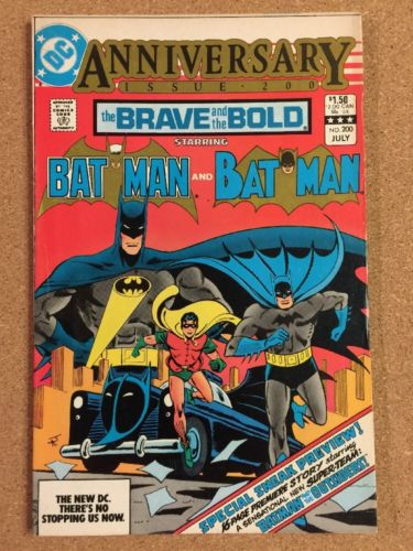 DC BRAVE And The BOLD #200 1st Katana Batman Outsiders Suicide Squad Movie
