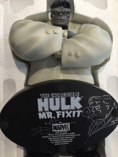 Mr. Fixit Bowen Artist Proof NEW Avengers Hulk NEVER DISPLAYED RB/SKETCHED