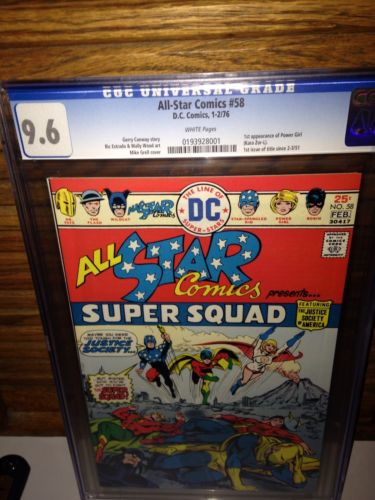 All Star Comics 58 Cgc 9.6 First Power Girl Best Price On eBay