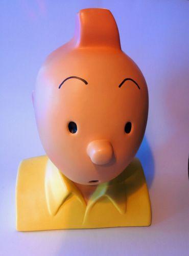 Tintin: buste résine Regout Lombard Aura 1988 30cm (Pixi ? no leblon aroutcheff)