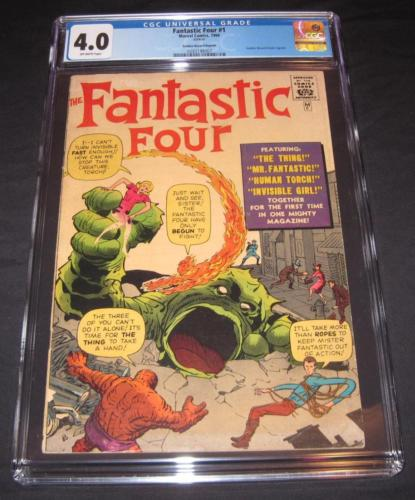 Fantastic Four #1 CGC 4.0 from 1966 | Golden Record Reprint