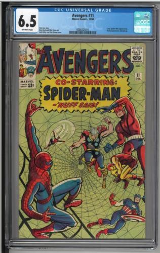The Avengers #11 CGC 6.5 Lot 102