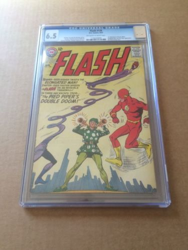 The Flash #138 CGC 6.5 OW/W 1st App. of Dexter Myles Silver Age DC Comics