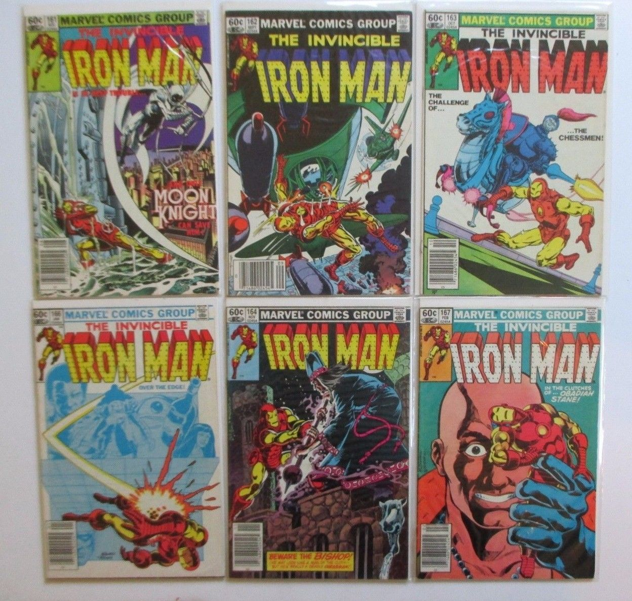 The Invincible Iron Man lot 161 to 193  22 total issues