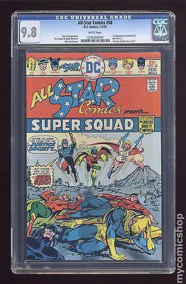 All Star Comics (1940-1978) #58 CGC 9.8 (0276323009)