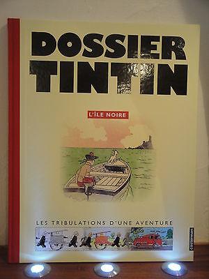 Tintin Hergé Dossier Tintin L'ile Noire casterman / Moulinsart éditions