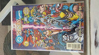 DC Versus Marvel / Marvel Versus DC #1 (Feb 1996, DC)