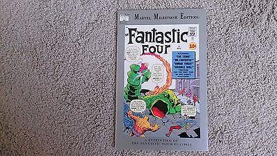Marvel Milestone Edition Fantastic Four #1 in NM condition