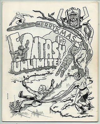 FANTASY UNLIMITED 12 rare fanzine 1972 Guy N. Smith Fantastic Four Kevin O'Neill