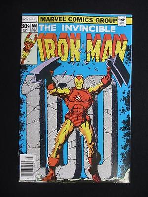 Iron Man #100 MARVEL 1977 - NEAR MINT 9.6 NM - Iron Man V.S The Mandarin