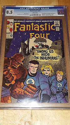 CGC 8.5 Fantastic Four #45 and CGC 9.0 Fantastic Four #36