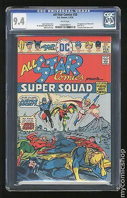 All Star Comics (1940-1978) #58 CGC 9.4 (1360608011)