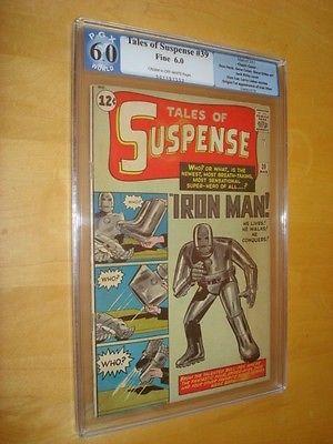 Tales of Suspense #39 (Mar 1963, Marvel) Graded 6.0