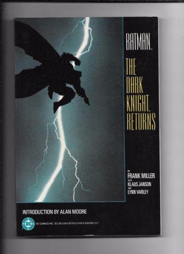 BATMAN: THE DARK KNIGHT RETURNS TPB GRAPHIC NOVEL NM **1ST PRINT** FRANK MILLER