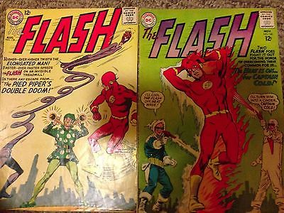 "DC Comics ""The FLASH""  lot of 11:  #133, 135-138, 140-142, 146, 147, Giant Flash"