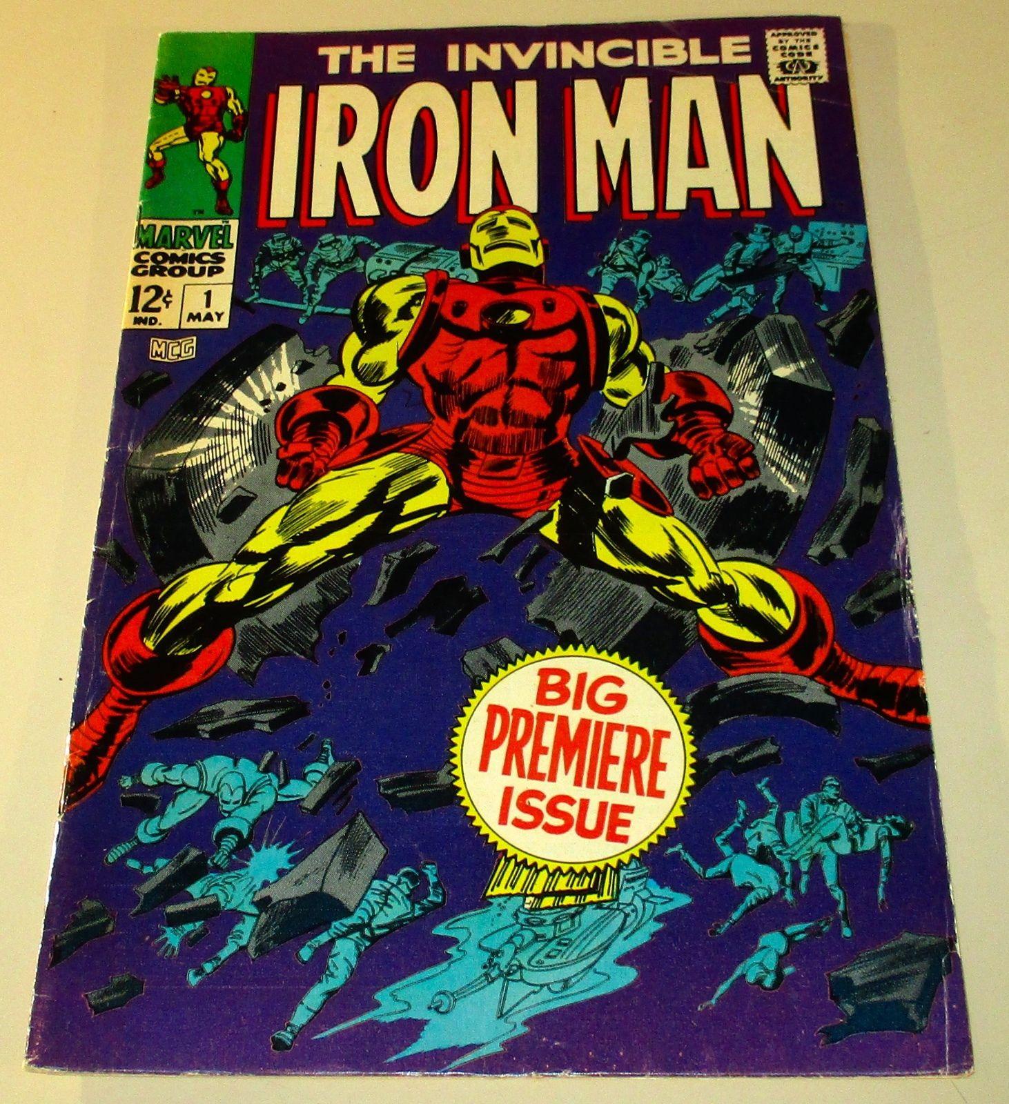 100) Iron Man # 1, 1968, app. grade: FN/VFN 7.0