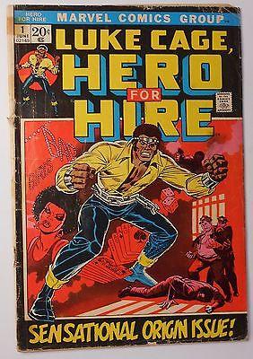 LUKE CAGE, HERO FOR HIRE 1 (Marvel June 1972) Key Issue Power Man Origin Netflix