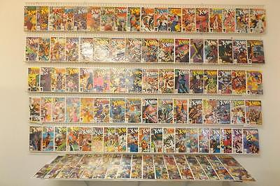 Huge Uncanny X-Men Lot W/#94,133,142,212,266,and Lots More 255+ Issues Avg VF-