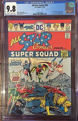 ALL-STAR COMICS #58 CGC 9.8 OFF-WHITE TO WHITE PAGES 1ST POWER GIRL