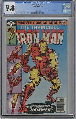 CGC IRON MAN #126, 9.8