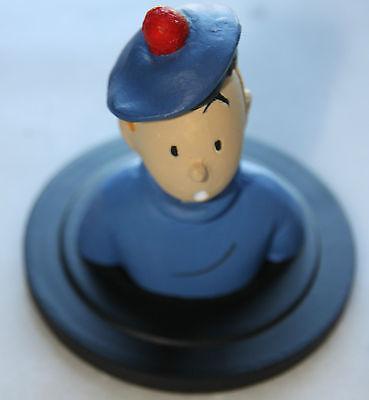 Buste Tintin - L'ile noire - Figurine 7cm - no Leblon Pixi