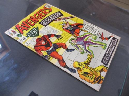Avengers #2 MARVEL 1963 - 2nd App of The Avengers - Hulk leaves The Avengers