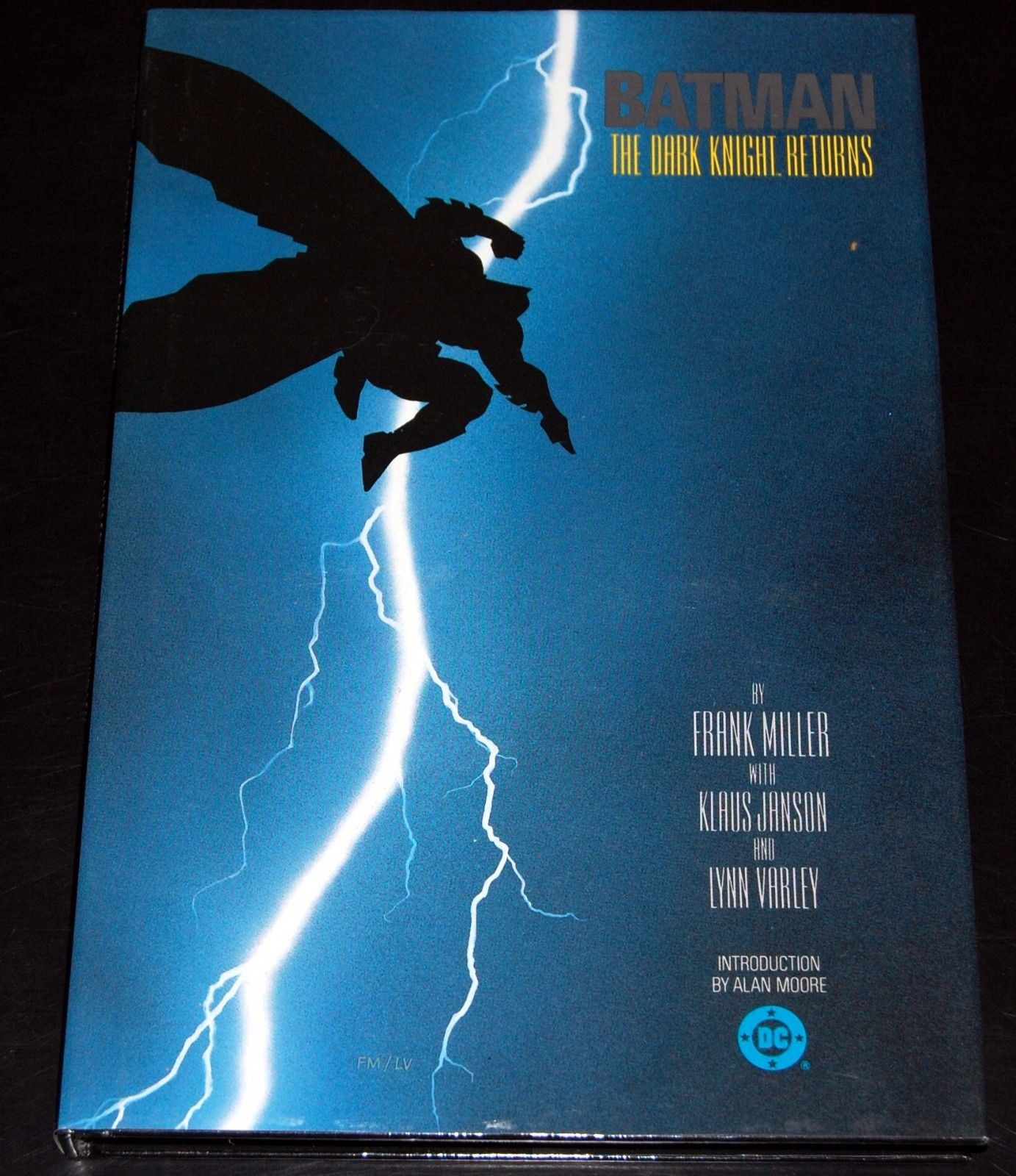 BATMAN The Dark Knight Returns Miller HARDCOVER 1st Print Graphic Novel TPB