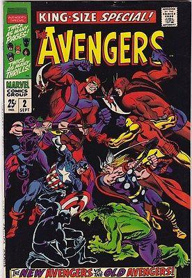 AVENGERS KING-SIZE SPECIAL #2_SEPT 1968_VERY FINE_NEW AVENGERS Vs OLD AVENGERS