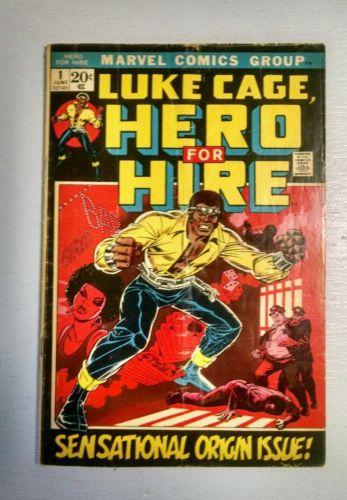 Luke Cage Hero for Hire #1 (Jun 1972, Marvel) 1st Issue Good/VG