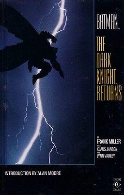 DC Comics Batman Frank Miller The Dark Knight Returns TPB 1986 Free UK Postage
