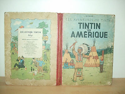 TINTIN EN AMERIQUE B1 1946