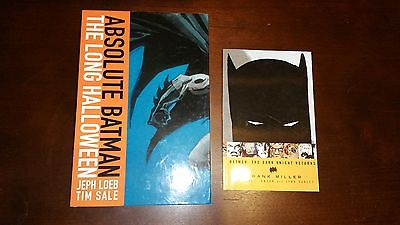 DC Absolute Batman Long Halloween The Dark Knight Returns TPB