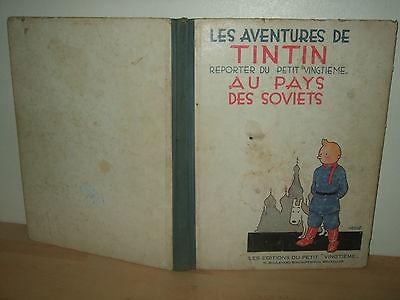 TINTIN AU PAYS DES SOVIETS EO 1930 ETAT MOYEN