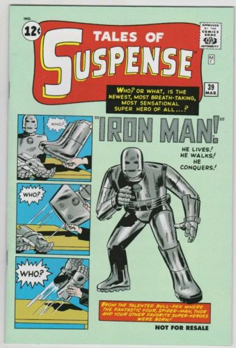 Tales of Suspense 39 Marvel Legends Reprint Iron Man 1st Appearance Key Issue NM