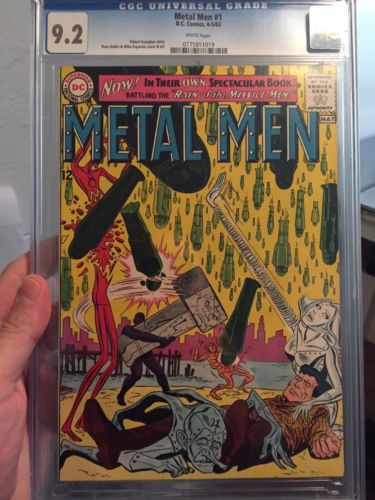 Metal Men #1/CGC 9.2 White Pages/Tough in High Grade