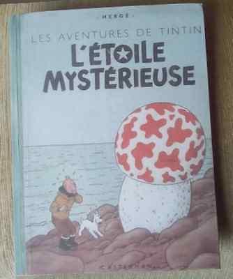 Tintin l'étoile mystérieuse B1 1946 (quasi neuf)